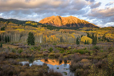 Colorado Sunrise Poster