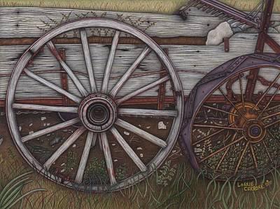 Colorado Wheels Poster