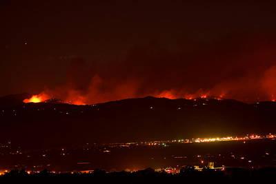 Colorado Wildfire Fourmile Canyon Aka Labor Day Fire Poster