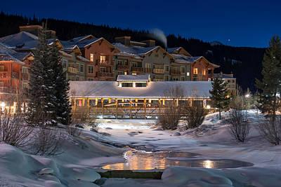 Colorado Winter Evening Poster