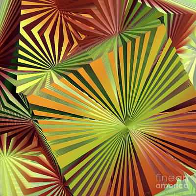 Colored Box Abstract Poster by Deborah Benoit