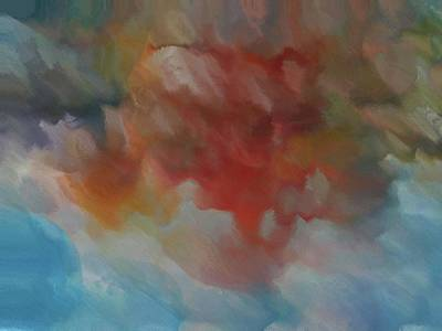 Colorful Abstract 2 Poster by Dan Sproul