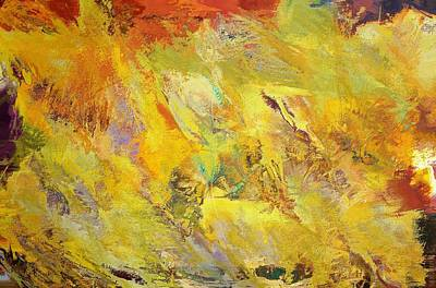 Colorful Abstract 3 Poster by Dan Sproul