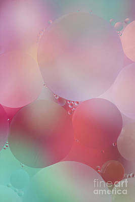 Colorful Bubbles 2 Poster by Elena Nosyreva