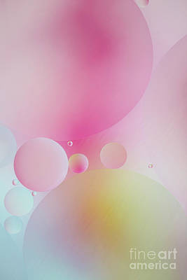 Colorful Bubbles Poster by Elena Nosyreva