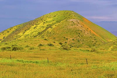 Poster featuring the photograph Colorful Hill by Marc Crumpler