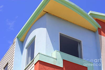 Colorful House In San Francisco Poster
