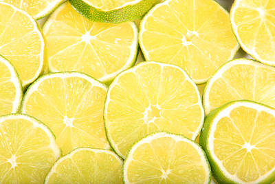 Colorful Limes Poster by James BO  Insogna