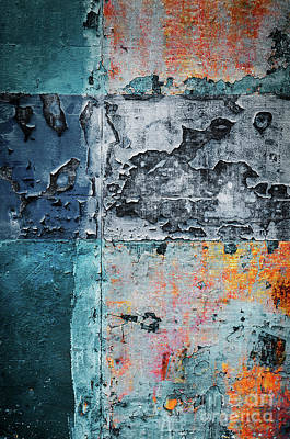 Colorful Rusty Art 3 Poster by Carlos Caetano