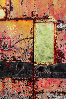 Colorful Rusty Art 4 Poster by Carlos Caetano
