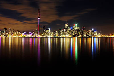 Colorful Toronto Poster by Matt  Trimble
