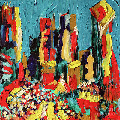 Colorful Uptown Poster by Robert Yaeger