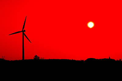 Colorful Wind Power 2 Poster
