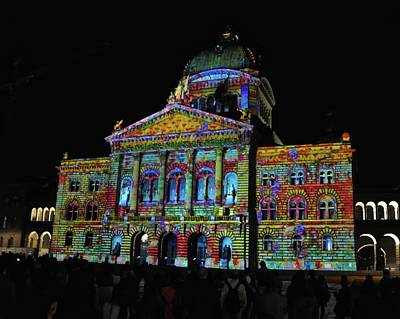 Colors Of Bern Poster