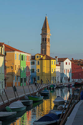Colors Of Burano 1 Poster by Art Ferrier
