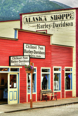 Colors Of Skagway 4 Poster by Mel Steinhauer