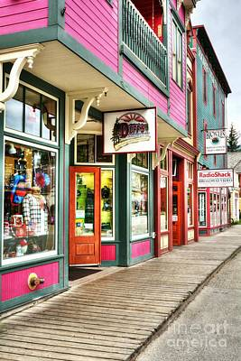 Colors Of Skagway Poster