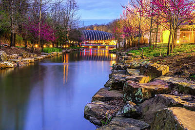 Colors Of Spring At Crystal Bridges Museum Of Art - Arkansas Poster by Gregory Ballos