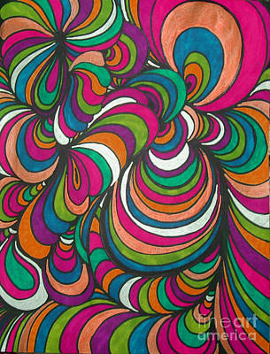Colorway1 Poster by Ramneek Narang