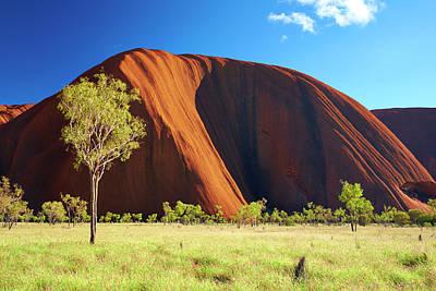 Colours Of Uluru Poster