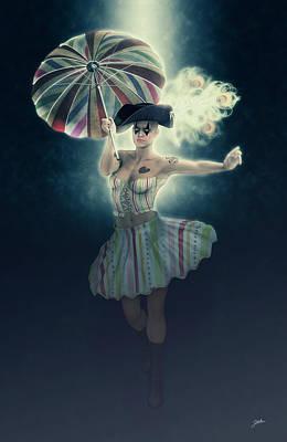 Columbine Funny Girl Poster