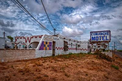 Comanche Motel Poster by Linda Unger