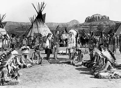 Comanche Territory 2 Poster by Bob Bradshaw