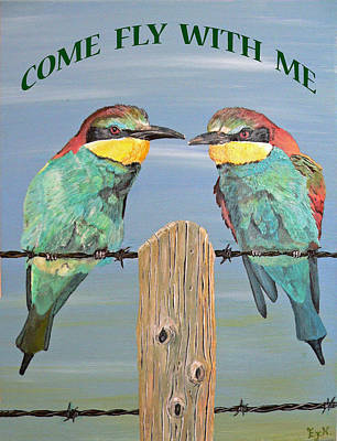 Come Fly With Me Poster by Eric Kempson
