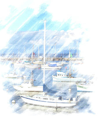 Poster featuring the photograph Come Sail With Me by Barbara MacPhail