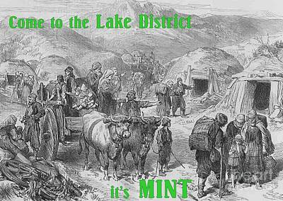 Come To The Lake District It's Mint Poster