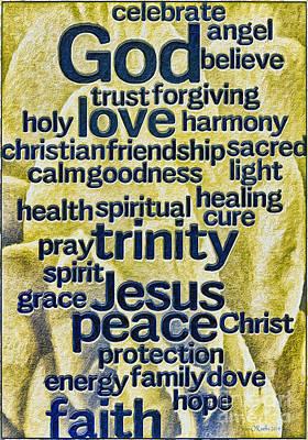 Comfort Words Poster