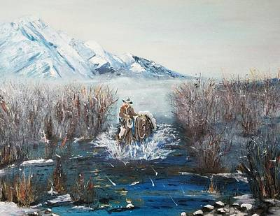 Coming Home- Oil Painting Poster by Anderson R Moore