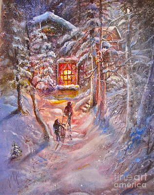 Coming Home Poster by Patricia Schneider Mitchell