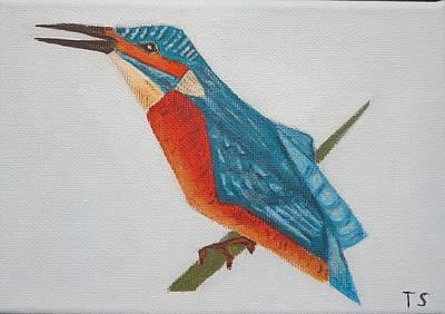 Common Kingfisher Poster by Tamara Savchenko
