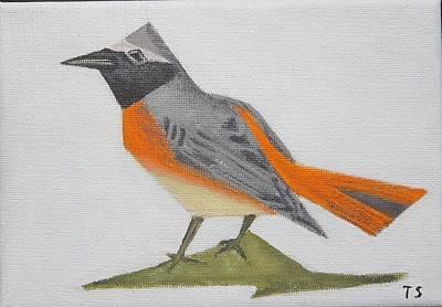 Common Redstart Poster by Tamara Savchenko