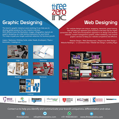 Complete Branding Solution Poster