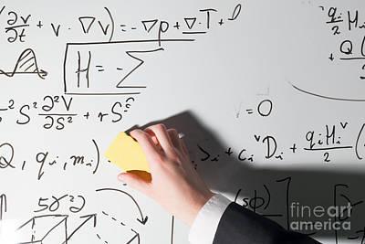 Complex Math Formulas Poster by Michal Bednarek
