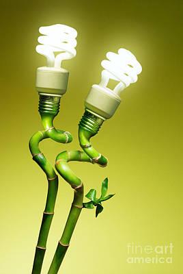 Conceptual Lamps Poster
