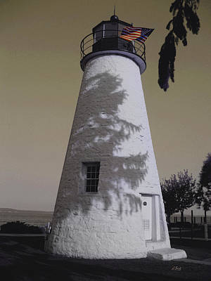 Concord Point Light Poster by Gordon Beck