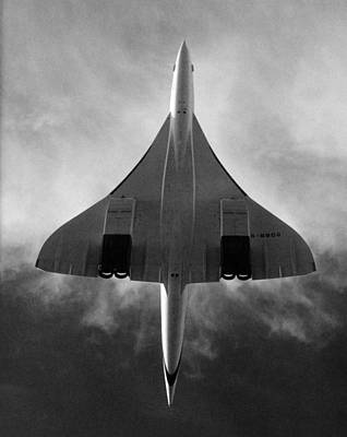 Concorde During A Test Flight Poster by Everett