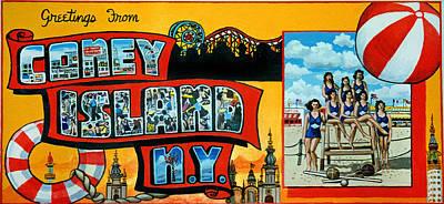 Coney Island New York Poster