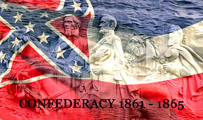 Confederacy History Poster by David Lee Thompson