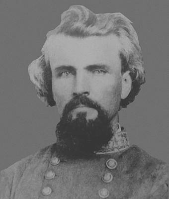 Confederate General Nathan Forrest Poster