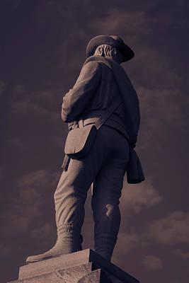 Confederate Statue Poster
