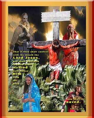Confess And Believe Poster by Terry Wallace