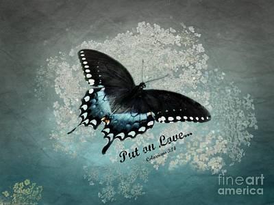 Confidante - Verse Poster by Anita Faye