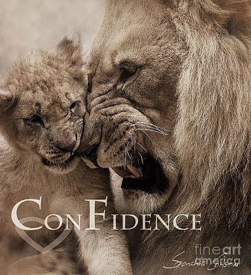Confidence Poster by Christine Sponchia