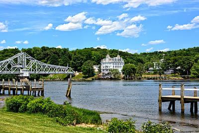 Connecticut River - Swing Bridge - Goodspeed Opera House Poster
