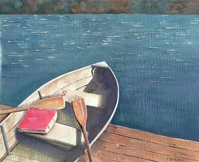 Connetquot Park Row Boat Poster
