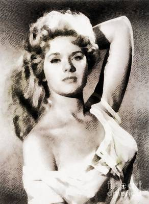 Connie Stevens, Vintage Actress By John Springfield Poster
